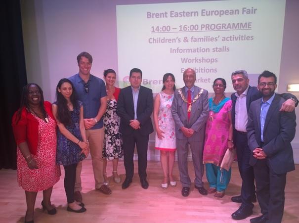 Дипломати от Посолството посетиха Фестивал
