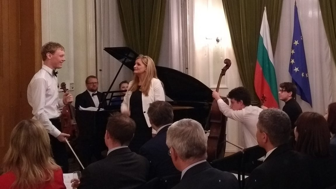 Pre-Presidency Concert at the Bulgarian Embassy in London