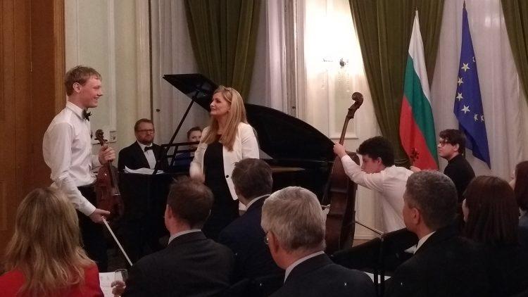 Pre-Presidency Concert at the Bulgarian Embassy in London