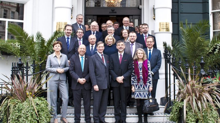 EU Heads of Missions working lunch with the Chair of the Intelligence and Security Committee