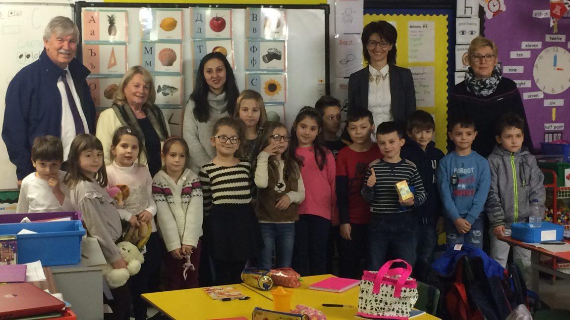 Посещение на почетния консул на България в Белфаст Пол Мартин в Българското училище в гр. Арма, С. Ирландия
