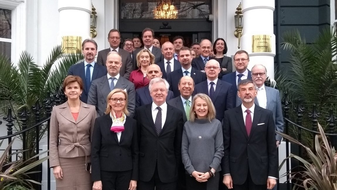 EU Heads of Missions working lunch with the Secretary of State for Exiting the European Union