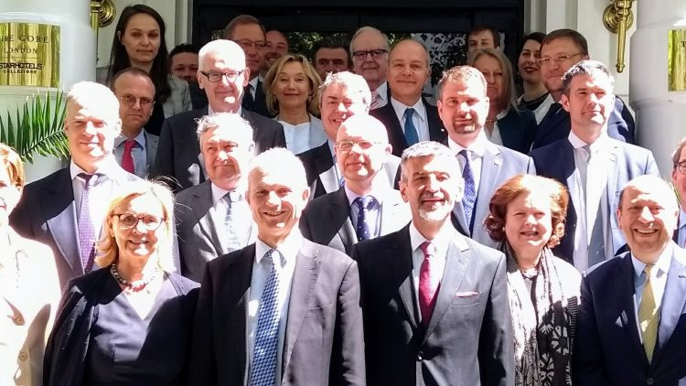 EU Heads of Missions working lunch with the Rt Hon David Lidington CBE MP