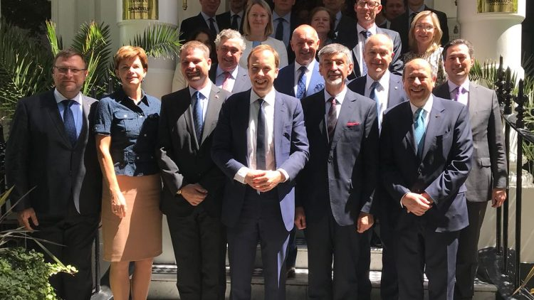 EU Heads of Missions working lunch with The Rt Hon Matt Hancock MP