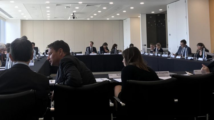 Roundtable in London City