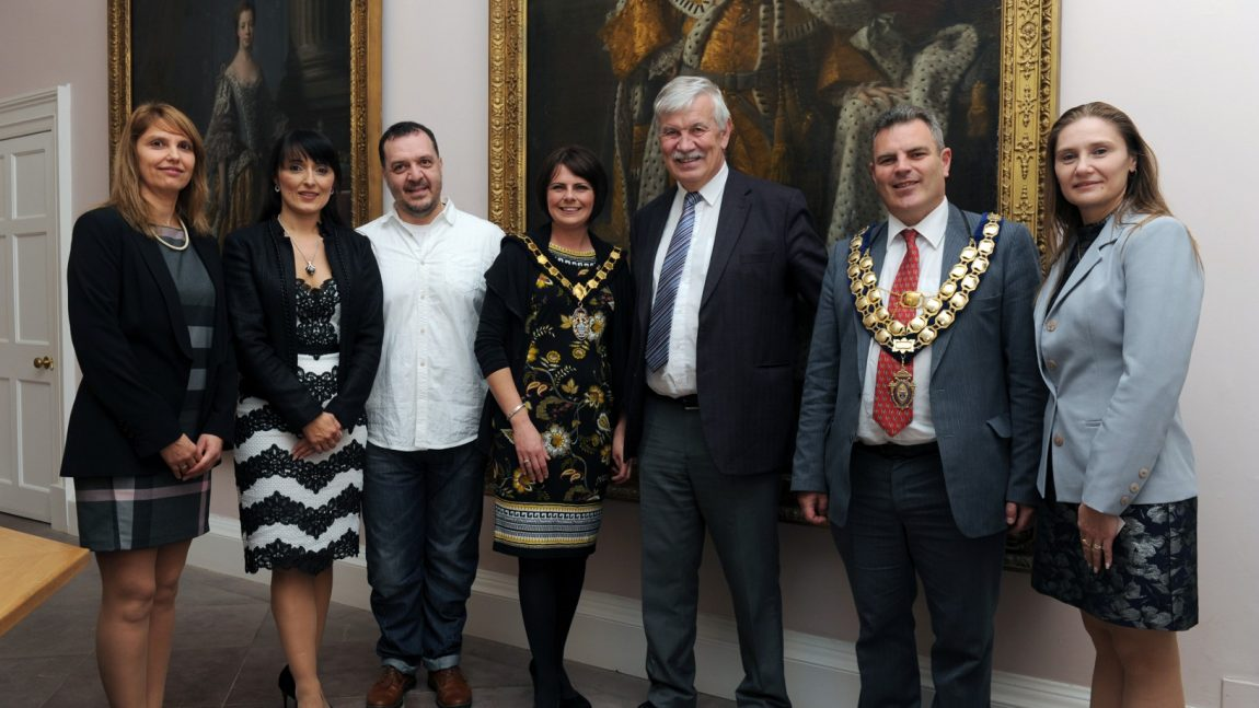 Bulgarian Celebration with Lord Mayor of Armagh