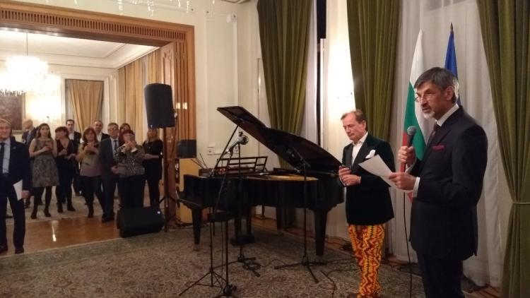 Коледно благотворително празненство в Посолството