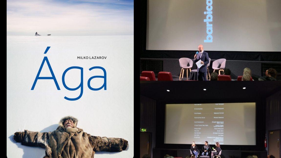 London Premiere of the Bulgarian Film Ága