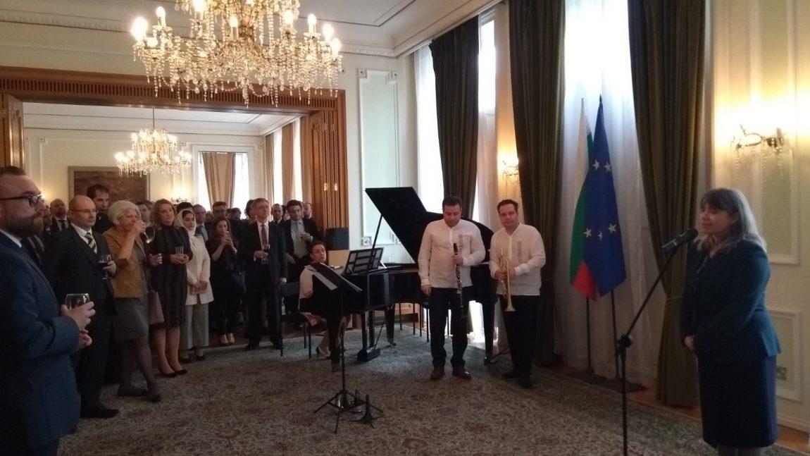 Приеми и културни събития в Лондон по повод националния празник на България