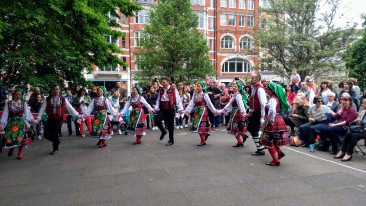 Честване на 24 май в Лондон