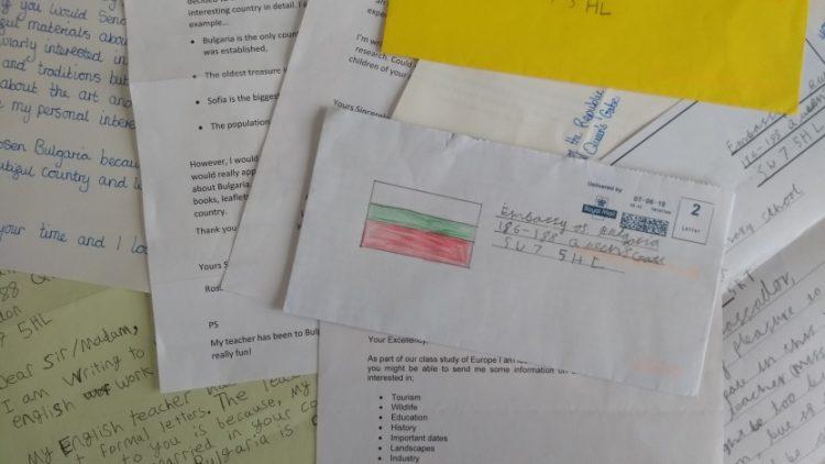 Британски деца пишат до посолството с интерес към България