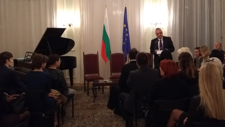 Literary Evening at the Bulgarian Embassy in London