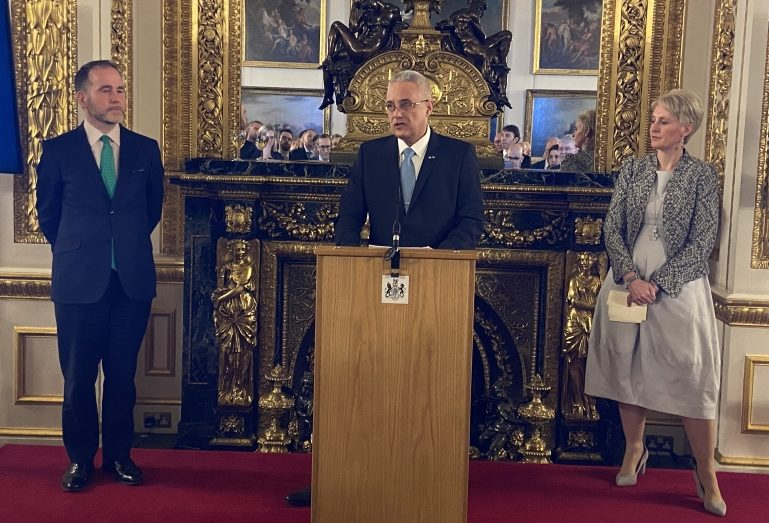 Celebrating 140 Years of Diplomatic Relations between Bulgaria and Great Britain.